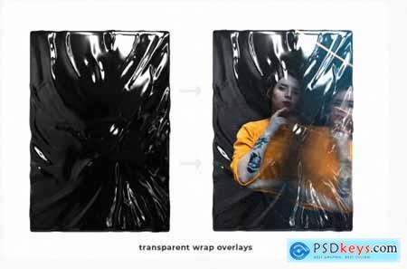 Plastic Foil Wrap Overlays