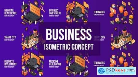 Videohive Business Investment- Isometric Concept 25076833