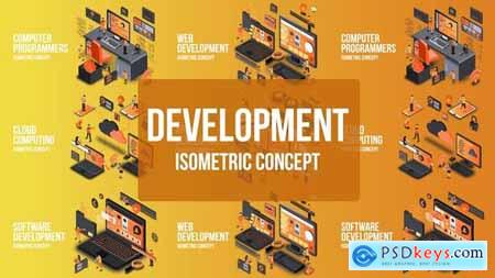 Videohive Digital Development - Isometric Concept 25076862