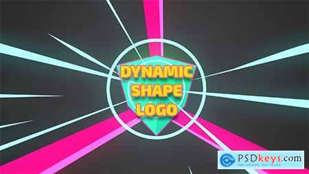 Videohive Dynamic Shape Logo Reveal 15000676