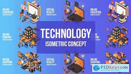 Videohive Future Technology - Isometric Concept 25076901
