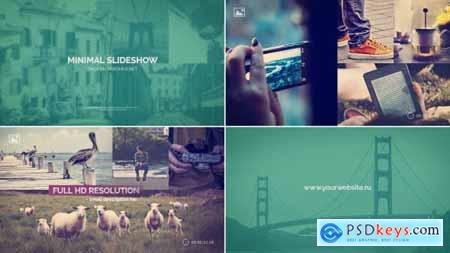 Videohive Minimal Slideshow Project 8567236