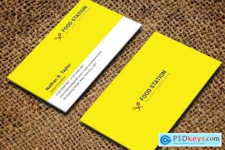 Restaurant Business Card 3746334