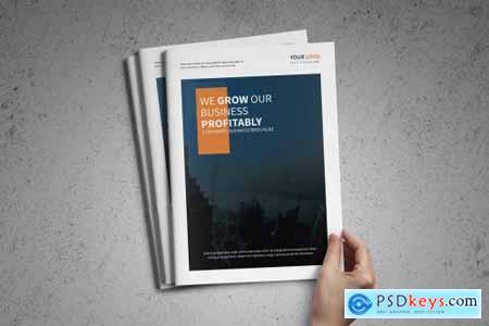 Corporate Business Brochure template 4110558