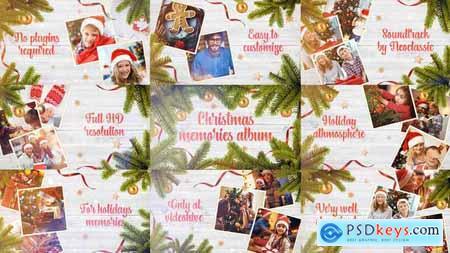 Videohive Christmas Memories Album 25131654
