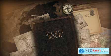 Videohive The Secret Book 10677717
