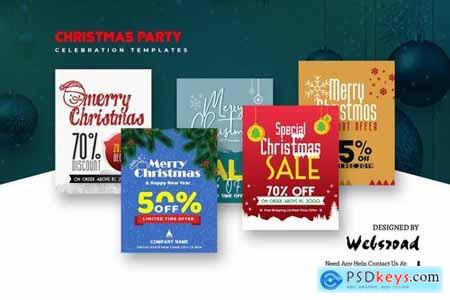Christmas Party Celebration Templates