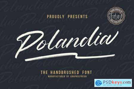 Polandia - The Handbrushed Font 4328104
