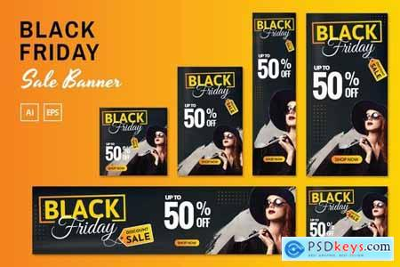 Black Friday Sale Banners588
