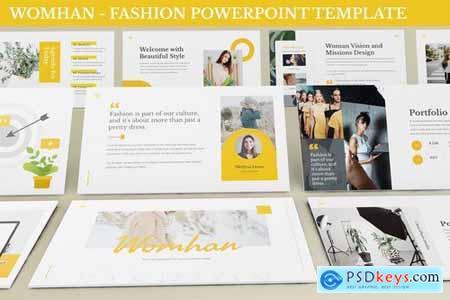 Womhan - Fashion Powerpoint Template