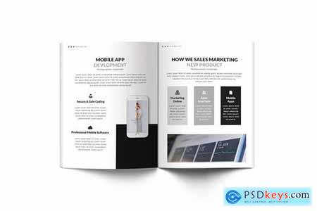 Multipurpose Corporate A4 Brochure Template