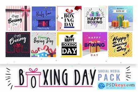 Boxing Day Social Media Templates