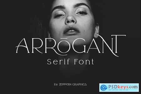 Creativemarket Arrogant Font 4270503