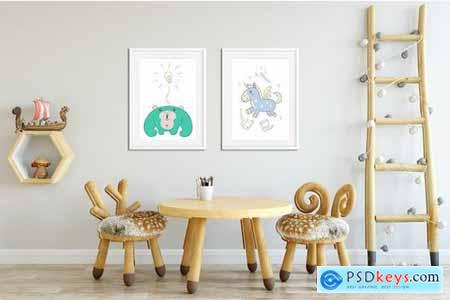 Character Animal Decorative for Kids