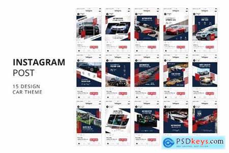 Automotive Instagram Post Banner