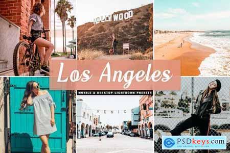 Los Angeles Mobile & Desktop Lightroom Presets