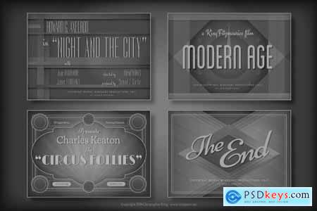 Vintage Hollywood Movie Titles 41144