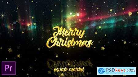 Videohive Christmas Aurora Lights Greetings - Premiere Pro 25125792
