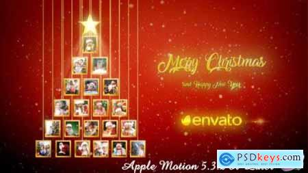Videohive Christmas Tree Photos Opener - Apple Motion 20904230