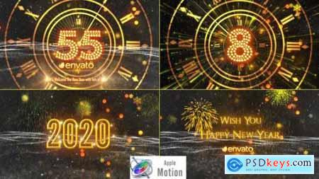 Videohive New Year Countdown 2020 - Apple Motion 22919323