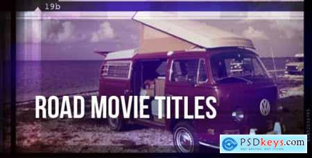 Videohive Road Movie - Titles 3394934