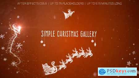 Videohive Simple Christmas Gallery 18749864