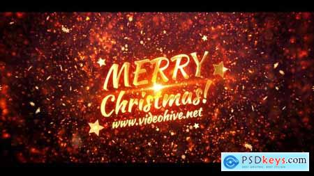 Videohive Christmas Magic Titles 23016289