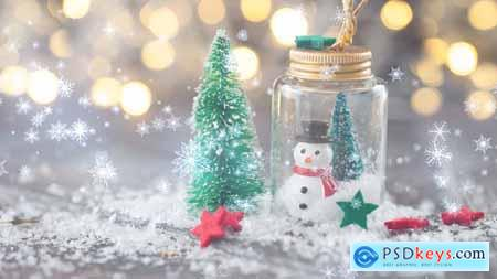 Videohive Holiday Particle Transitions 23015843