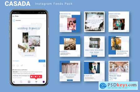 Casada - Instagram Feeds Pack