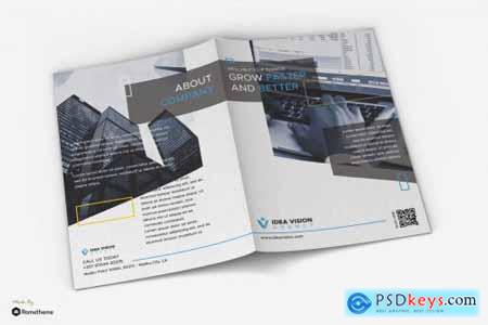 Vision - Corporate Business Bifold Brochure RY