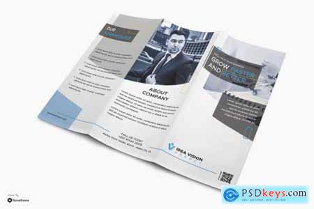 Vision - Corporate Business Trifold Brochure RY