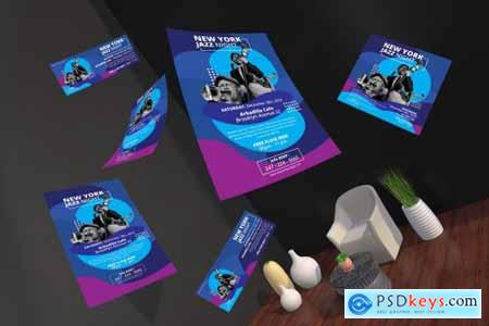 Music Event Fyer and Social Media Pack Template