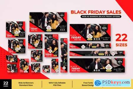 Black Friday Web Ad Banners