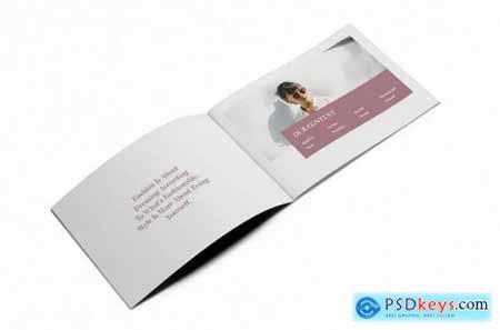Fashion A5 Brochure Template