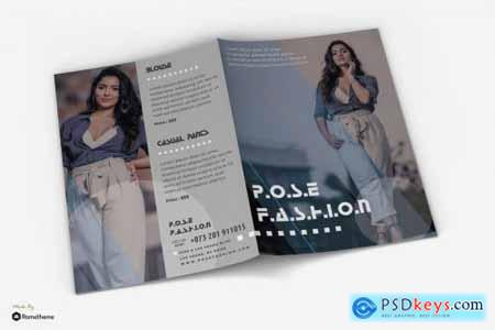 Pose - Fashion Promotion Bifold Brochure RY
