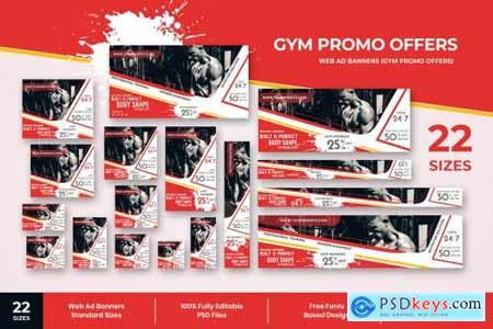 Gym Offers Web Ad Banners