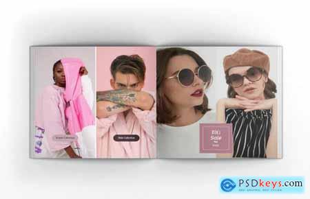 Fashion Square Brochure Template