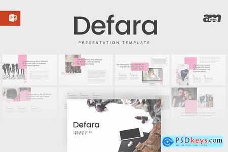 Defara - Powerpoint Google Slides and Keynote Templates