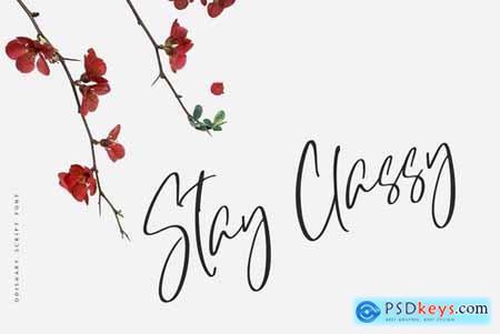 Odishary - Classy Handwritten Font 4333762