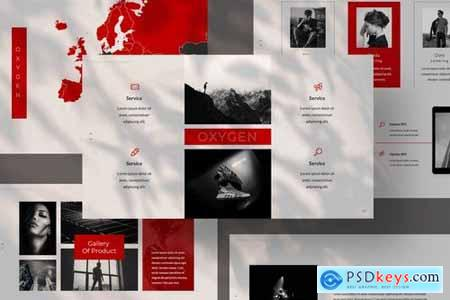 Oxygen Creative Business Powerpoint Google Slides and Keynote Templates