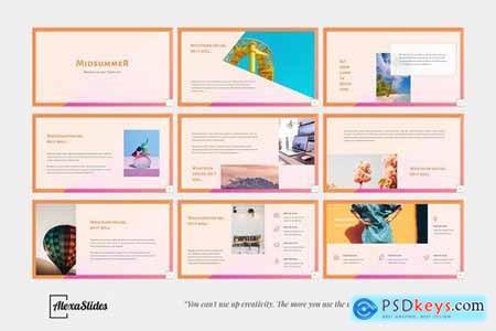 Midsummer - Creative Powerpoint Google Slides and Keynote Templates