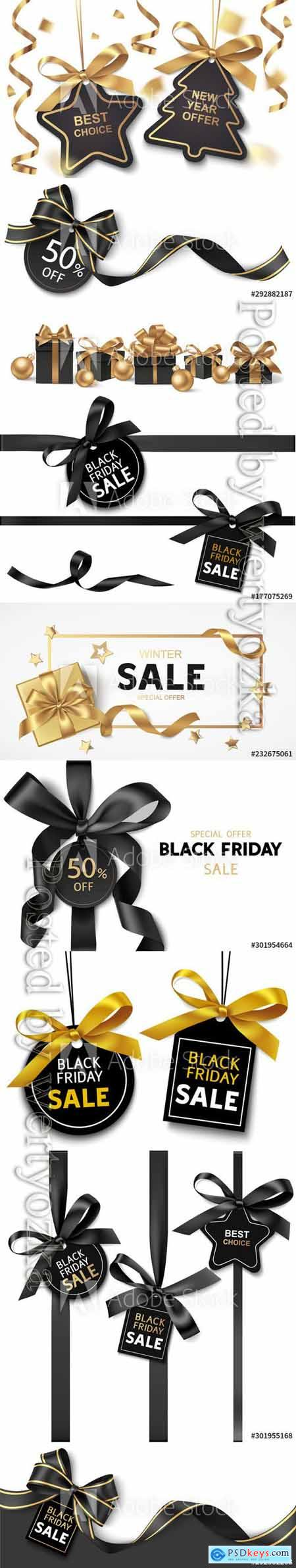 New Year or Christmas Sale design template