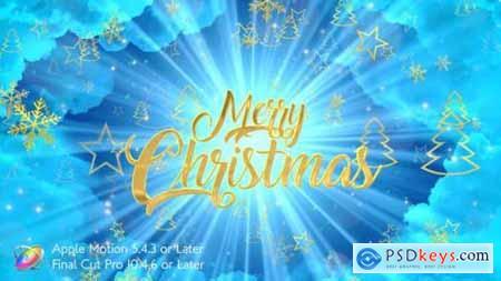 Videohive Heavenly Christmas Promo Apple Motion 25157545