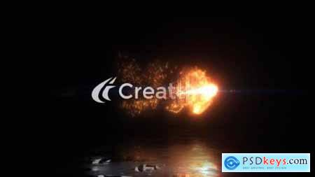 Videohive Magical Fire Reveal 25055366