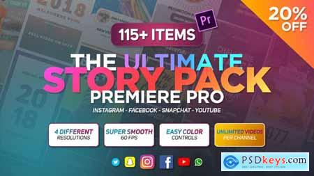 Videohive The Ultimate Story Pack Premiere Pro ( Last Update 28 October 19 ) 23557778