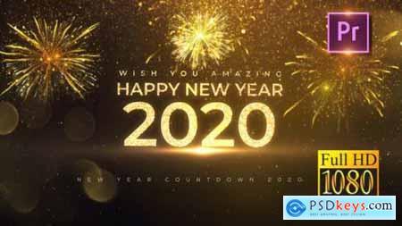 Videohive New Year Countdown 2020 Premiere PRO 25144021