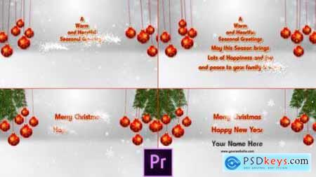 Videohive Christmas Opener Premiere Pro 25125485