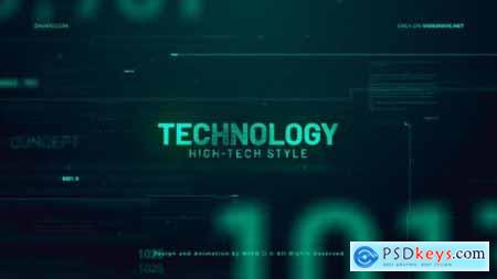 Videohive High Technology Promo Slideshow 24782958