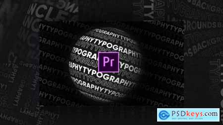 Videohive Typography Patterns 25146154