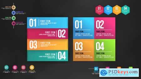 Videohive Infographic Animated Lists 25138752
